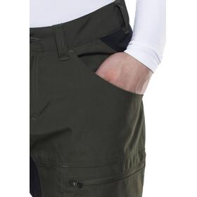 Lundhags Lockne - Pantalones de Trekking Hombre - negro/Oliva